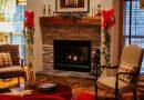 Salon w świątecznych barwach